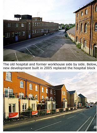 Hospital then and now