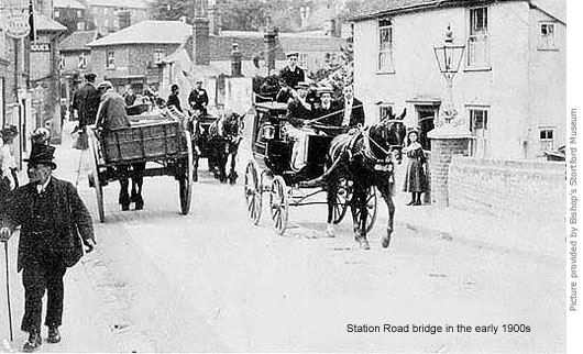 Station Road bridge 1900s