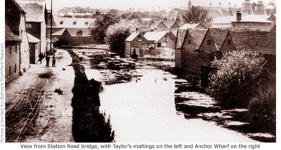 Stort and Taylor's maltings