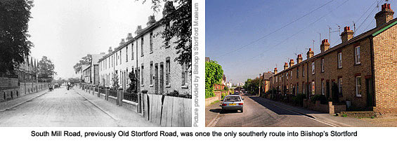 Southmill Road then and now