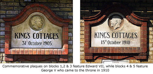 Kings Cottages nameplates