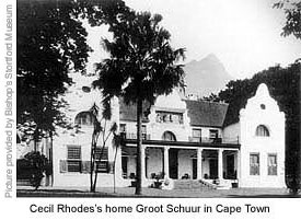 Cecil's Cape Town house