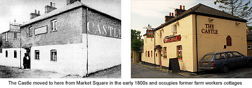 castle pub then and now