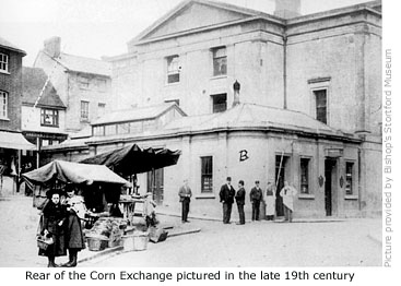 Corn Exchange viewed from Market Square