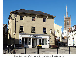 Former Curriers Arms, now restaurant