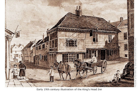 Former Kings Head Inn