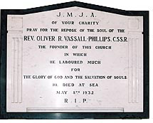 Vassall Phillip's memorial
