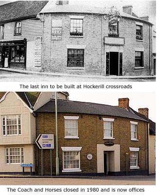 Coach & Horses then and now