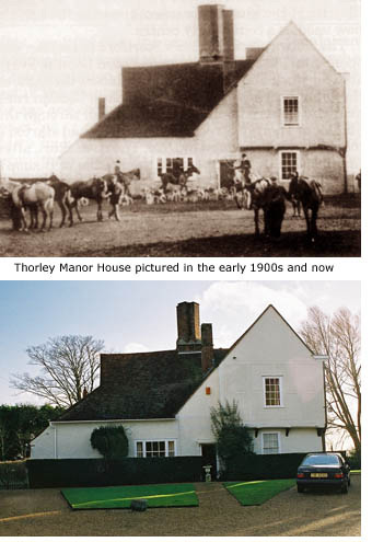 Manor House, then and now