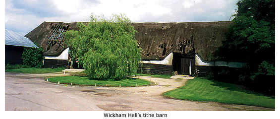 wickham hall barn