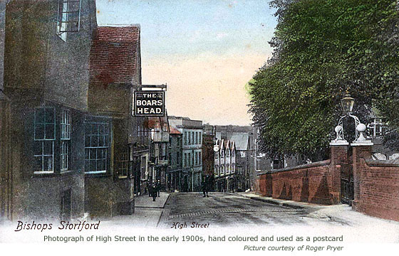 High Street postcard view