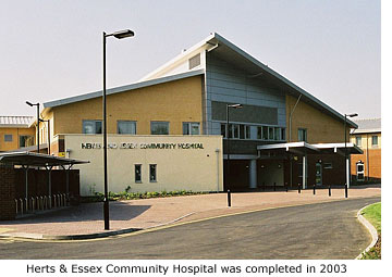 herts and essex hospital drop in
